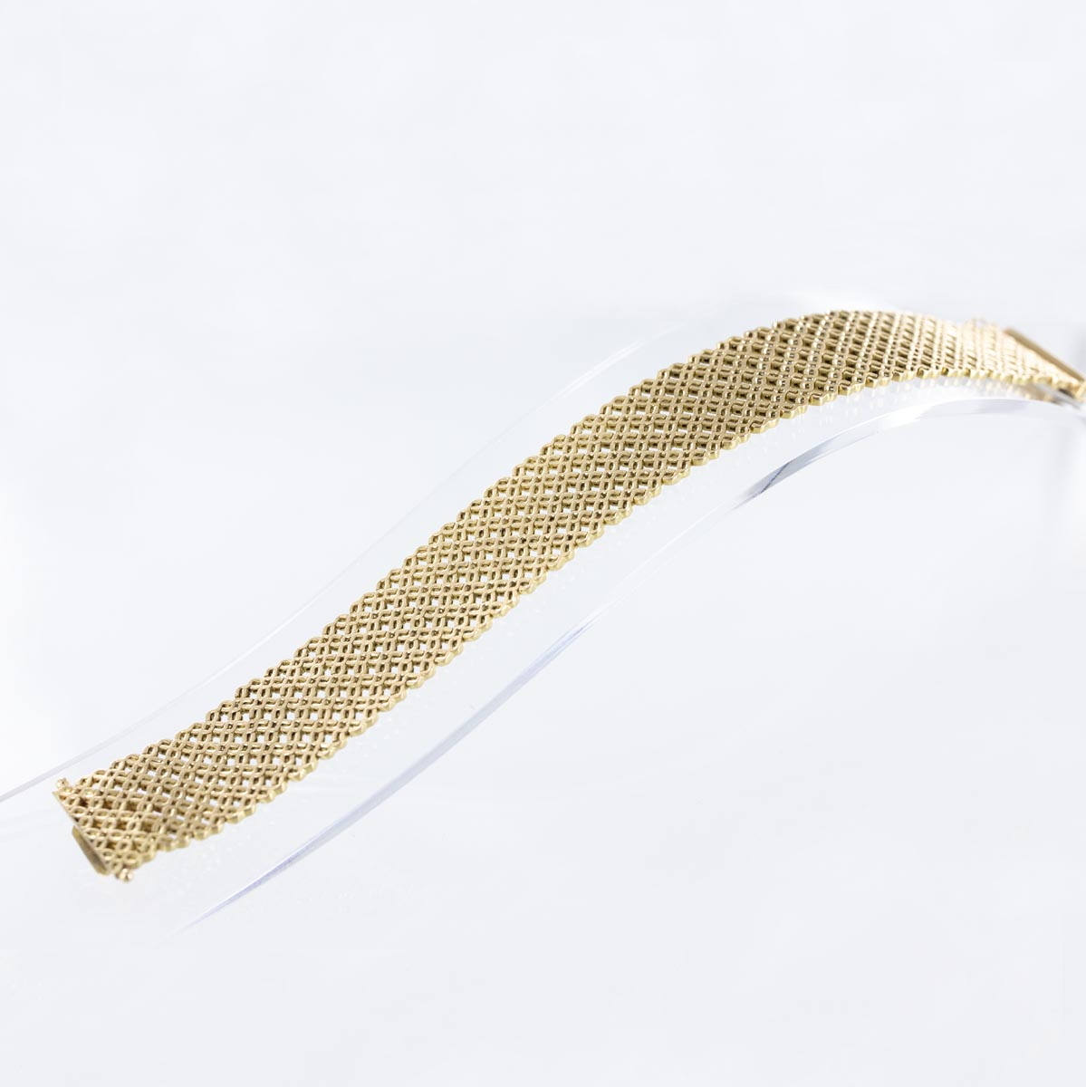 Bracelet manchette or mat