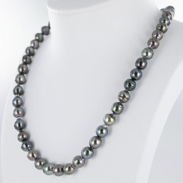 Collier de perles de Tahiti baroques