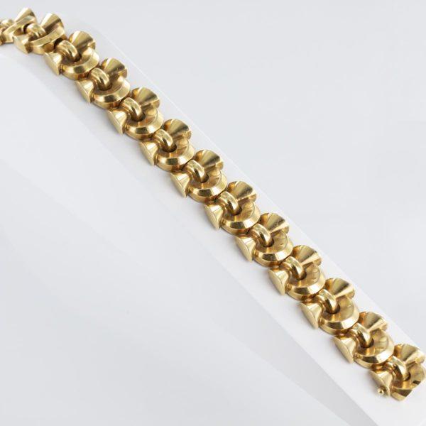 Bracelet Art Déco noeuds